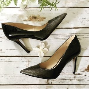 Sam Edelman Hazel Sparkly Patent Leather Heels